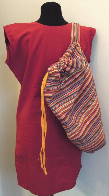 Рюкзак-мешок с одной лямкой в ассорт.  (Индия) II.