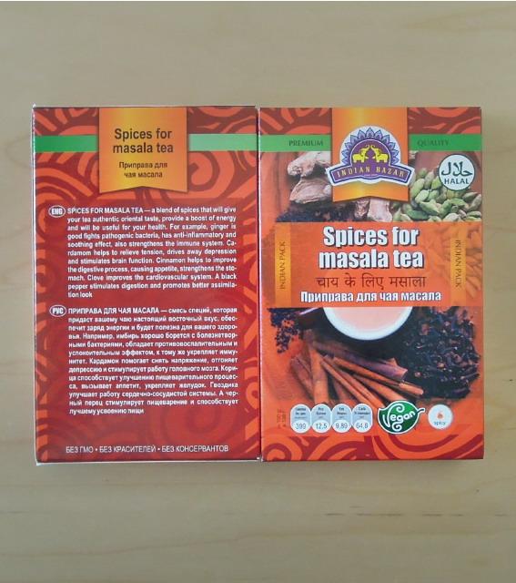 Специи для масала чай